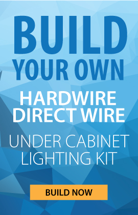 lightkiwi hardwire under cabinet lighting kit