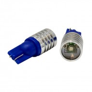 Lightkiwi KW128 Automotive 3 watt LED Front Side Marker Lamp for Chevrolet - Ultra Blue [Pair]