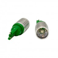 Lightkiwi ZM756 Automotive 3 watt LED Front Side Marker Lamp for Honda - Emerald Green [Pair]